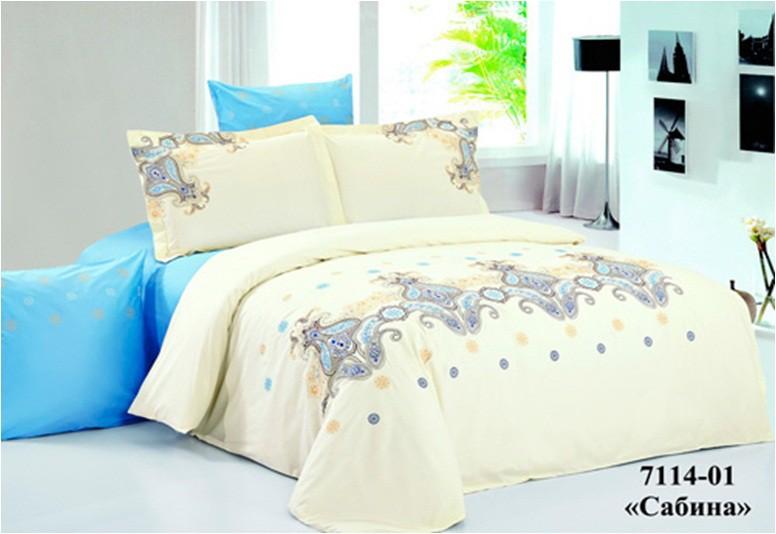 Сатин с вышивкой семейное постельное